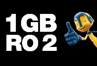 1 GB DATAFOR JUST RO 2